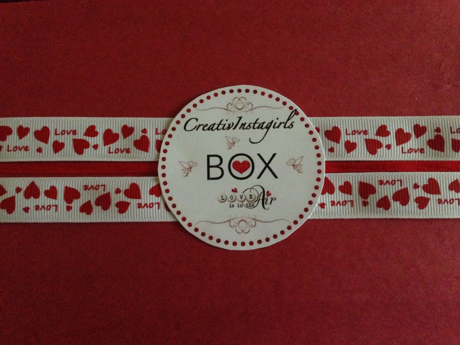 Box « love is in the air »