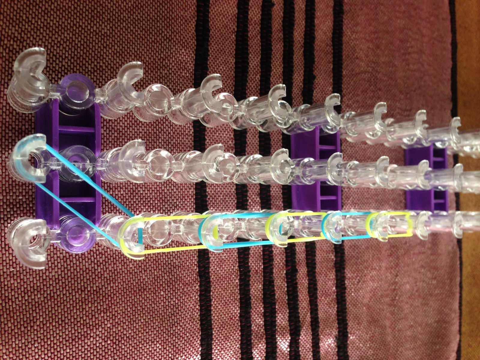 DIY Rainbow Loom #1