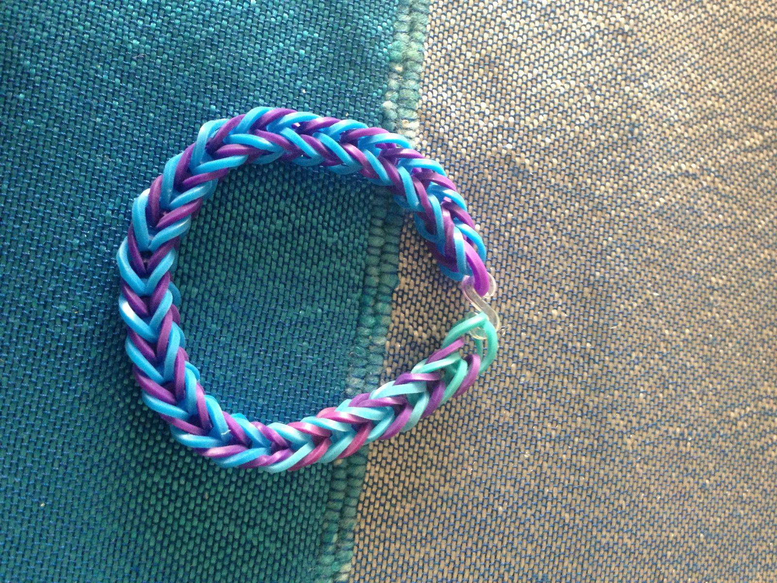 DIY Rainbow Loom #3 Fishtail