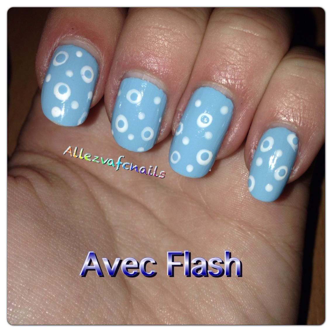 Nail art hivernal