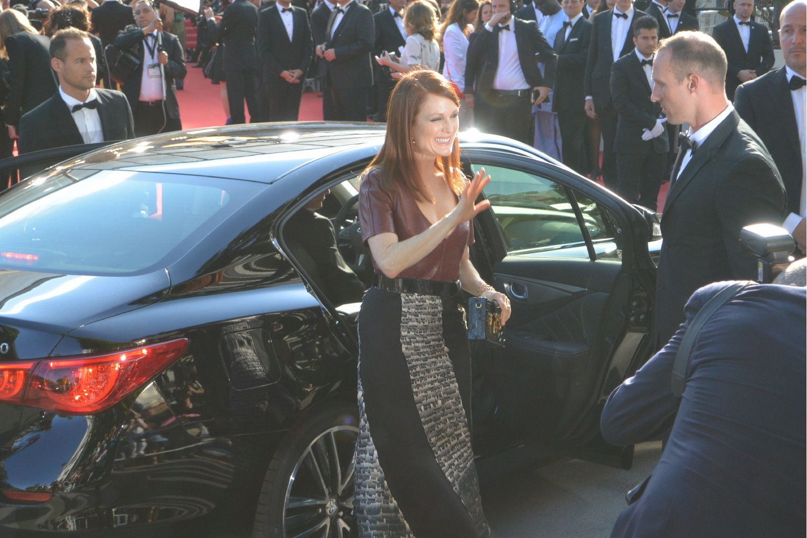 Julianne Moore actrice americo britanique trés applaudie