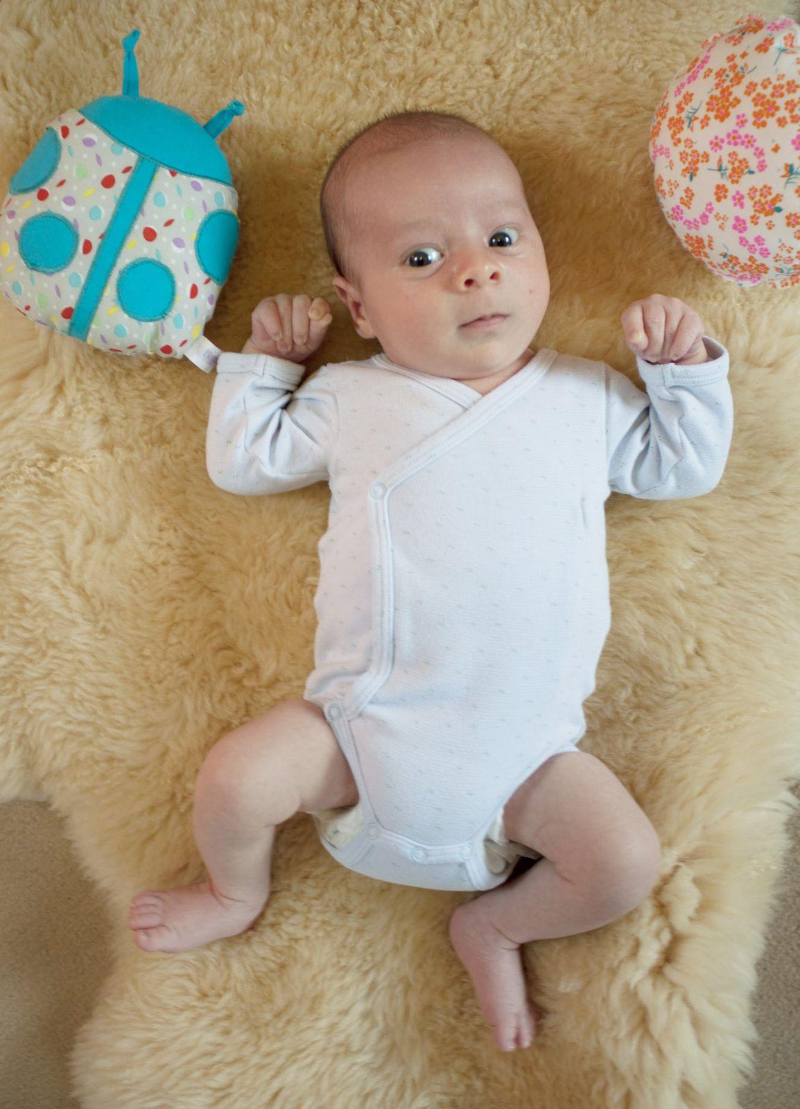 Lucien, 1 mois