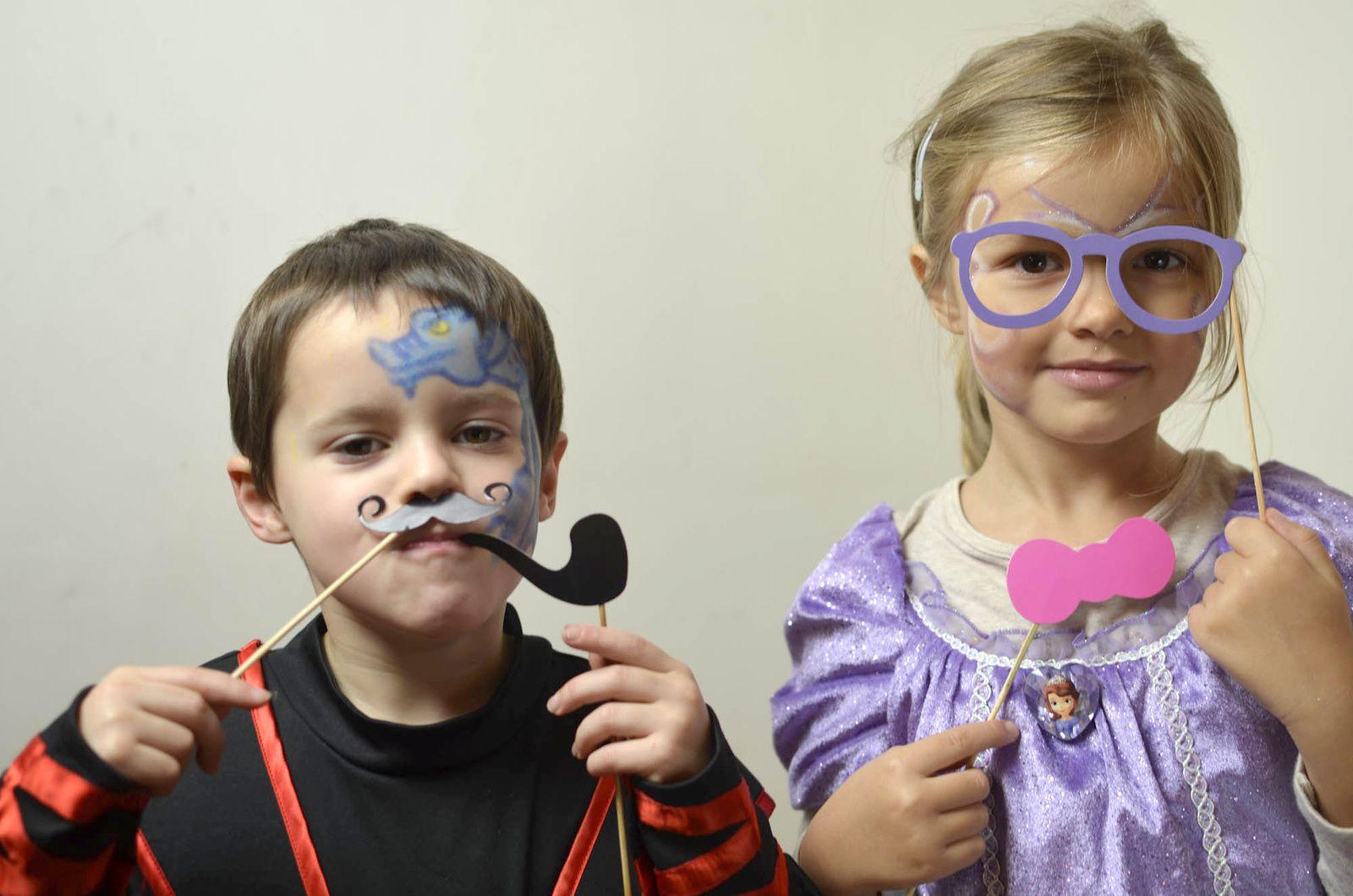 Les 6 ans de Joseph - Studio maquillages et postiches + vidéo bonus