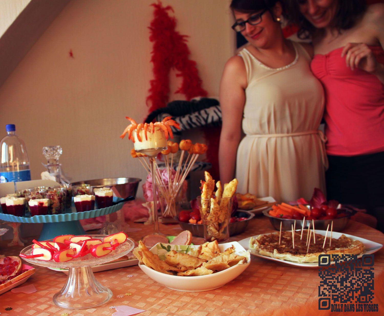 EVJF cupcake - un peu de déco, et de bouffe