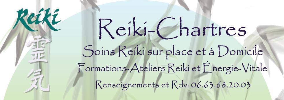 RDV Soins Reiki à Domicile Chartres et environs- Réservations Ateliers Reiki - Infos Initiations aux 3/4 degrés uniquement par téléphone