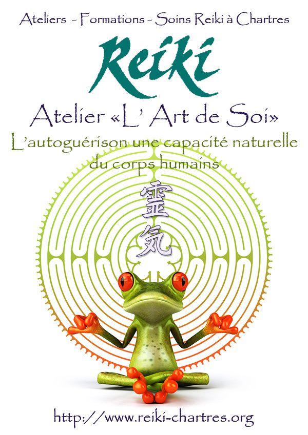Atelier Reiki*Energie Vitale Jeudi 6 novembre à Chartres