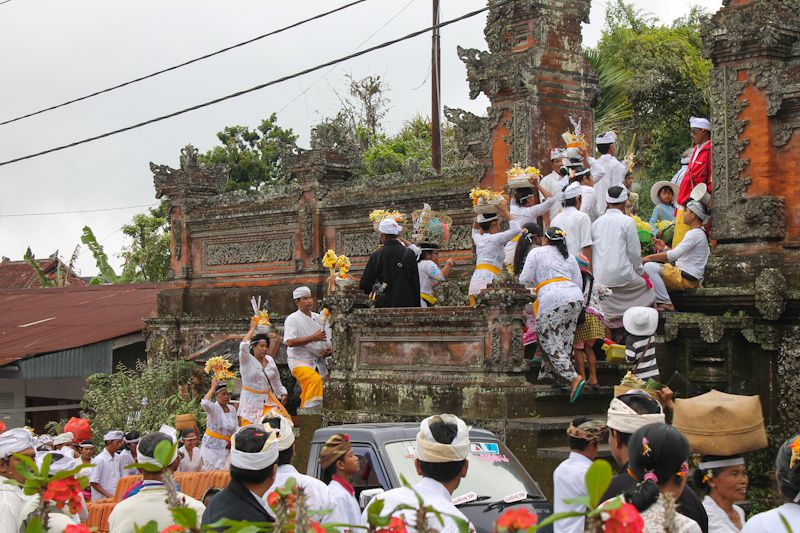 Bali: Les temples de Besakih & Tirtaganga