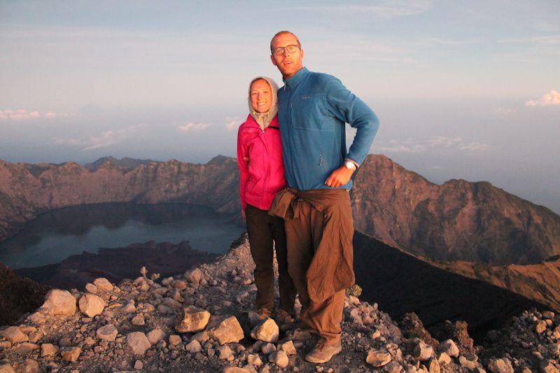 Indonésie: Ascension du volcan Rinjani