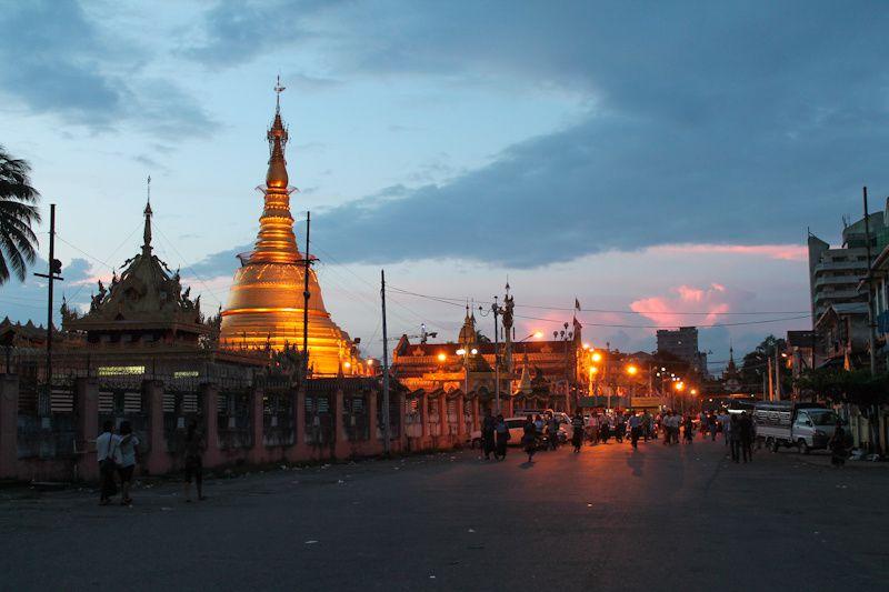 Birmanie: première étape - Yangon