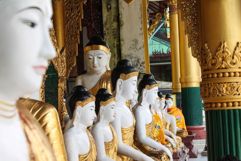Birmanie: Yangon et la Shwedagon pagoda