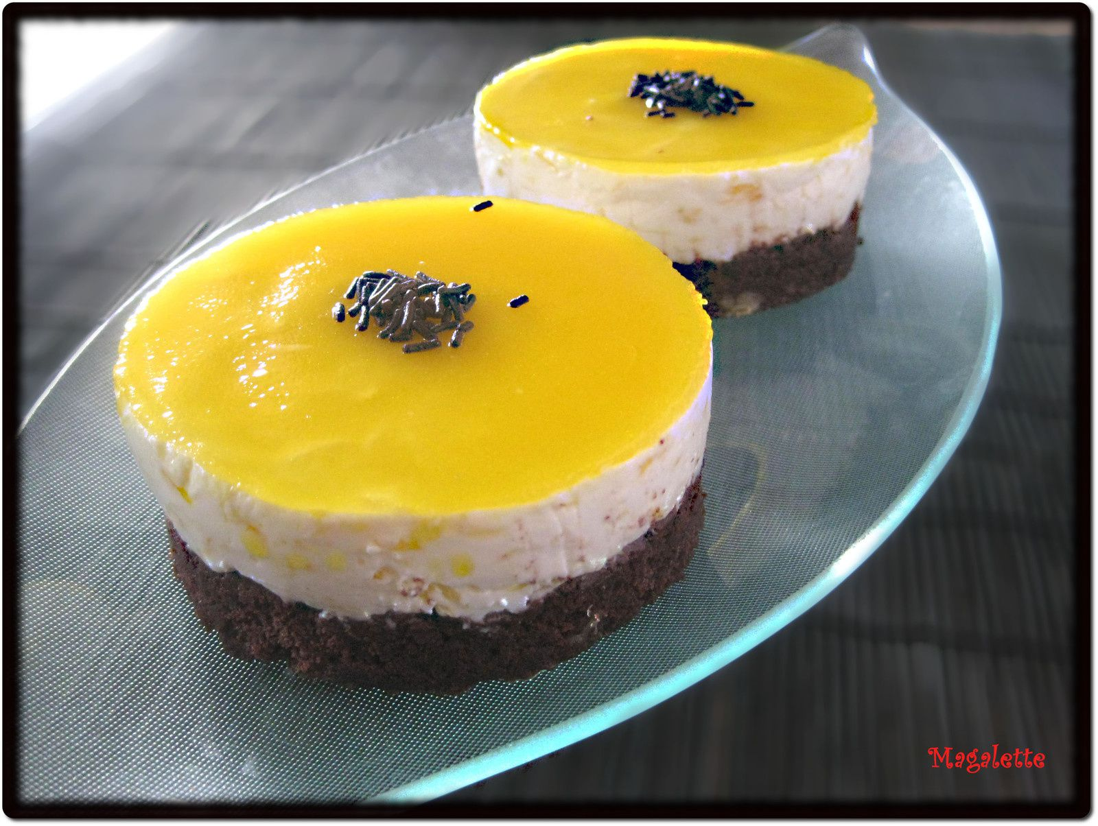 Entremets Chocolat - Orange