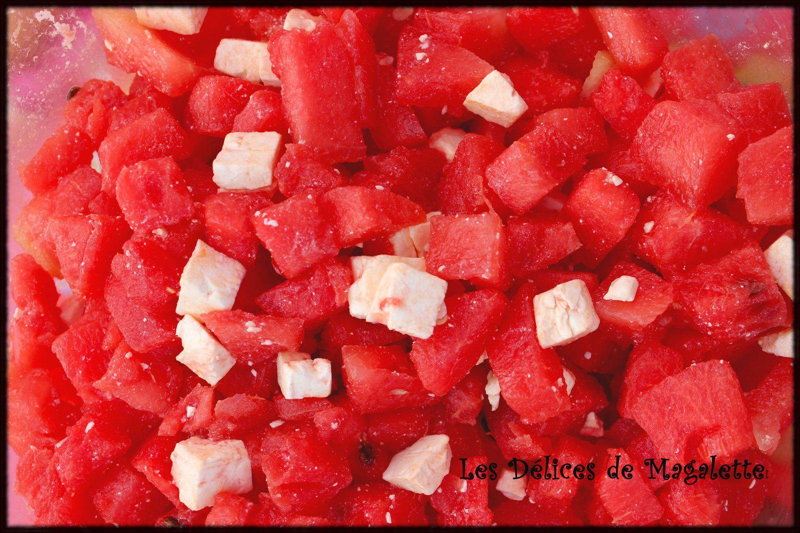 Salade Pastèque - Feta