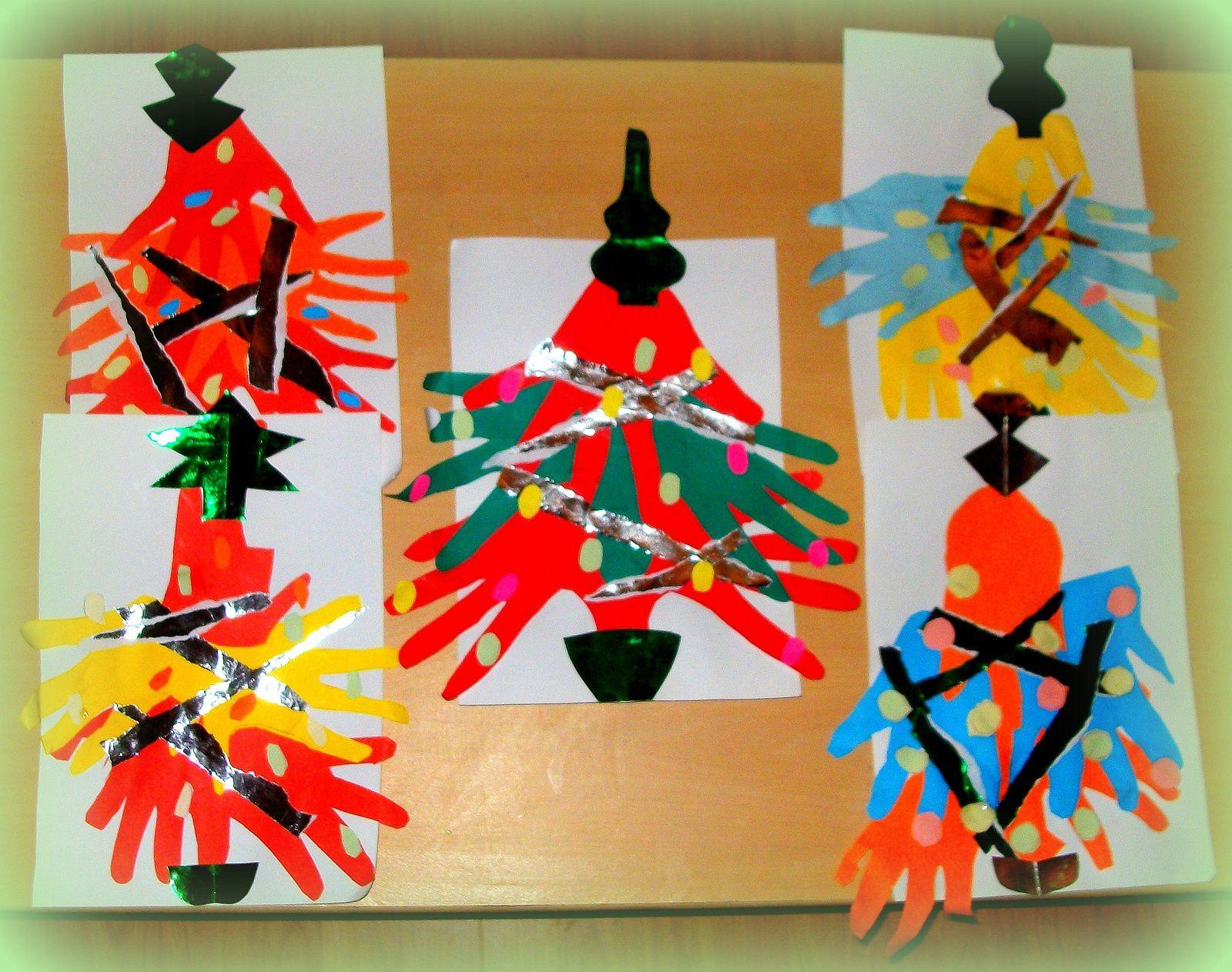 Sapins de (petites et grandes) mains... Rois des confections de saison!