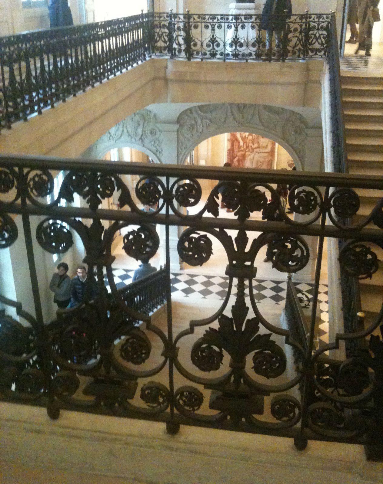 L'escalier de l'hôtel Salé.