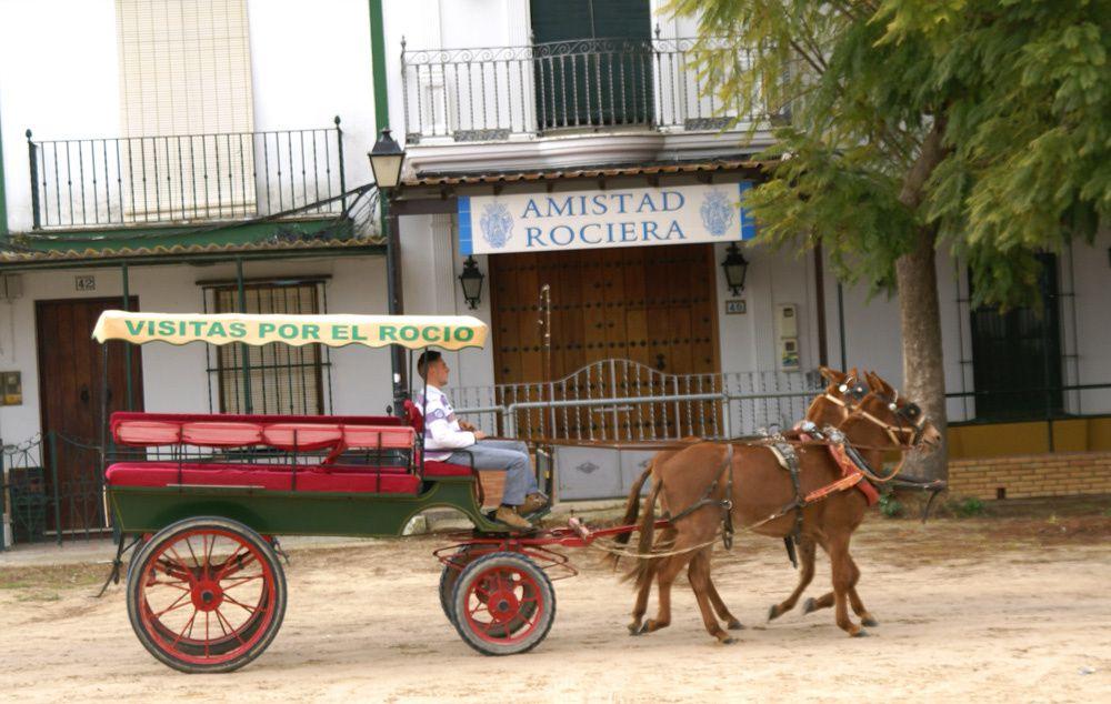 El Rocio, Sanctuaire du cheval Andalou