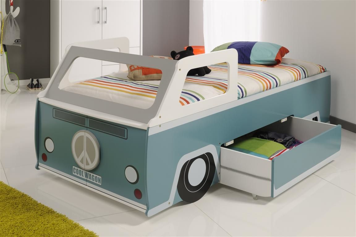 lit voiture enfant combi vw tout le mobilier d 39 int rieur se trouve sur cbc. Black Bedroom Furniture Sets. Home Design Ideas