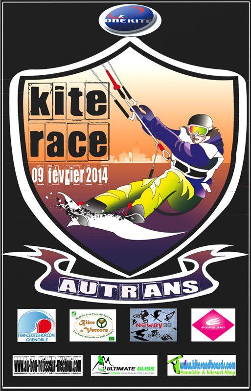 Snowkite Race Autrans