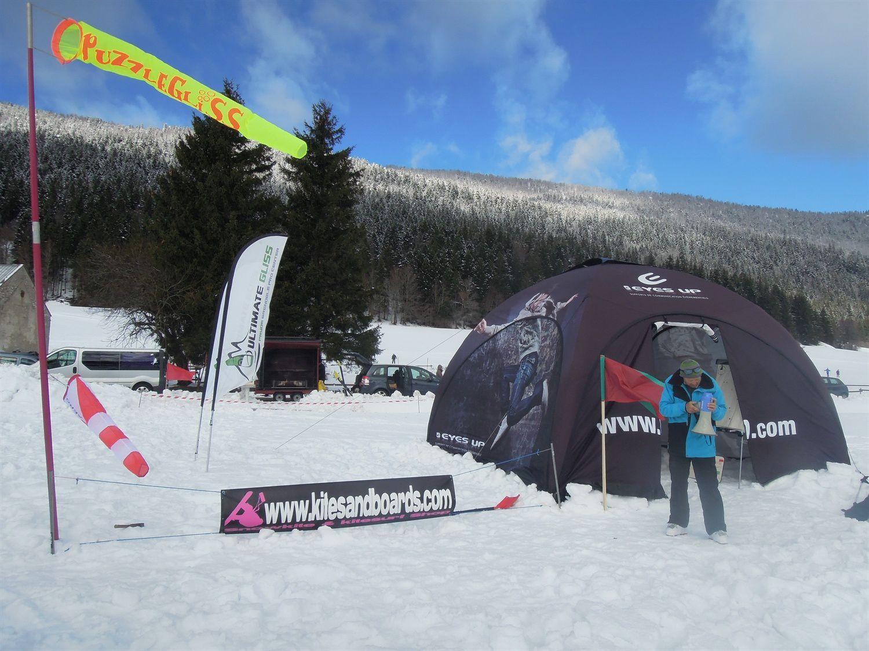 Snowkite, &quot&#x3B;Kite Race d'Autrans&quot&#x3B;...le CR