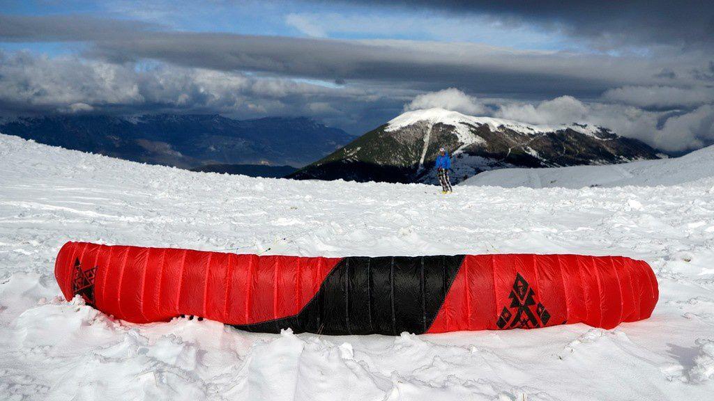 Vent soutenu au Connest et Pierre Plantéee/ Flysurfer Peak2 4m2