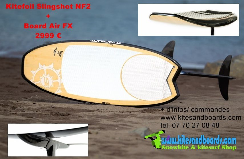 Foil Slingshot au shop Kites And Boards Grenoble
