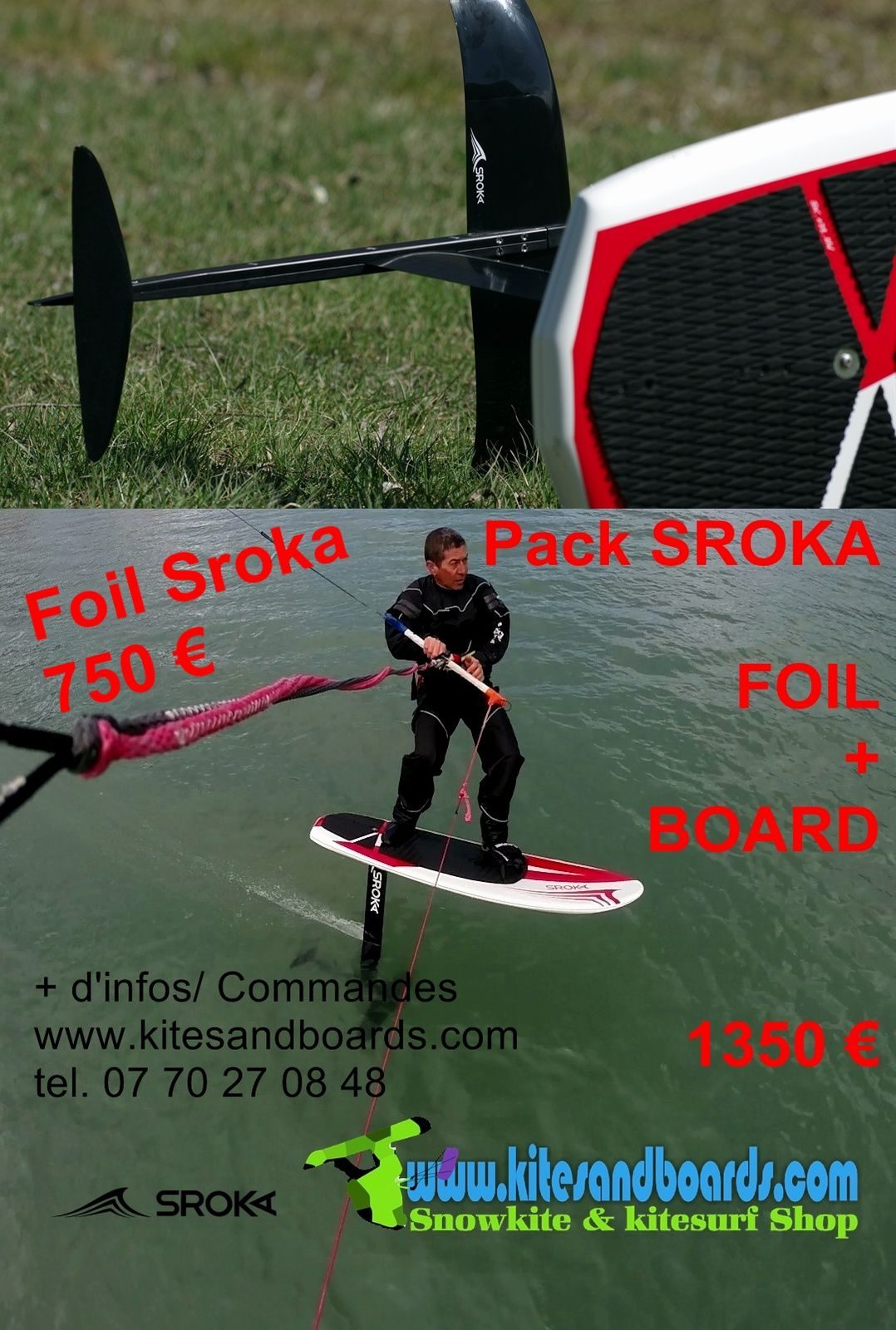 foil sroka au shop Kites And Boards Grenoble