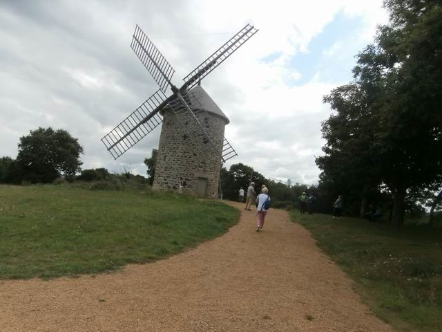 … vers le second moulin...