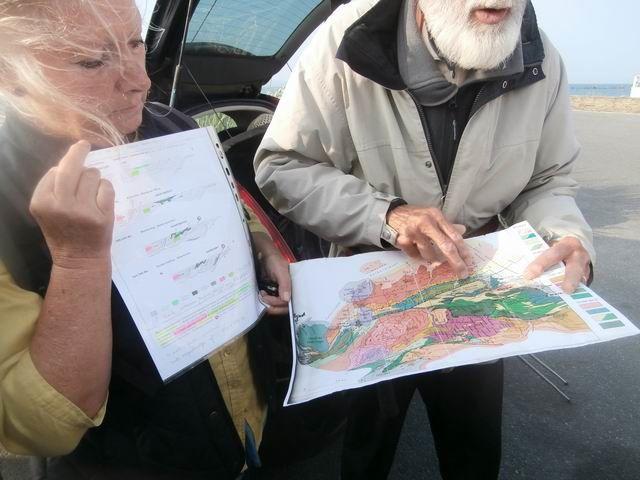 Jacques BERTHOLET présente d'abord la région et son histoire géologique...