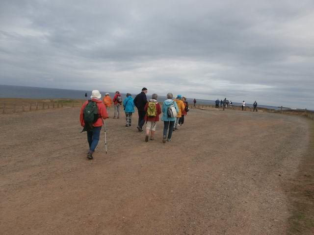 ... pour une balade à pied sur ce sommet ouest de l'île...