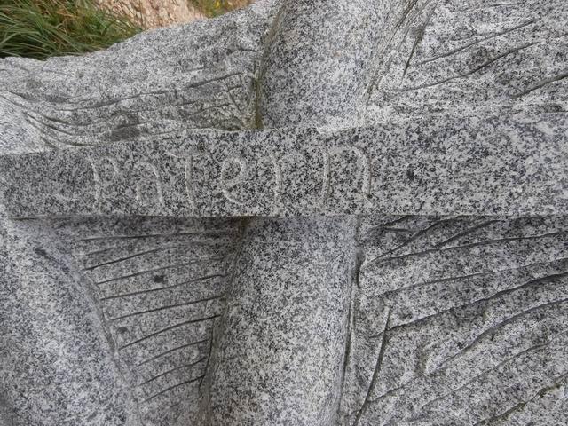 Avec Patern (qui clôt la série des 7 saints...) c'est à nouveau le granite de Louvigné que nous rencontrons...