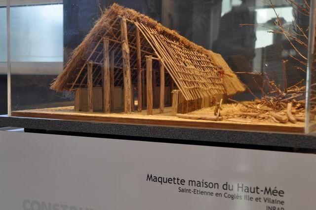 A l'époque les maisons étaient en bois...