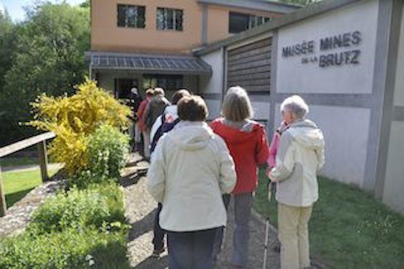 Nous voici arrivant au musée des mines de La Brutz en Teillay.