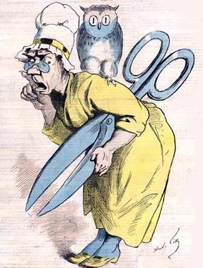 Poème: Les ciseaux d'Anastasie