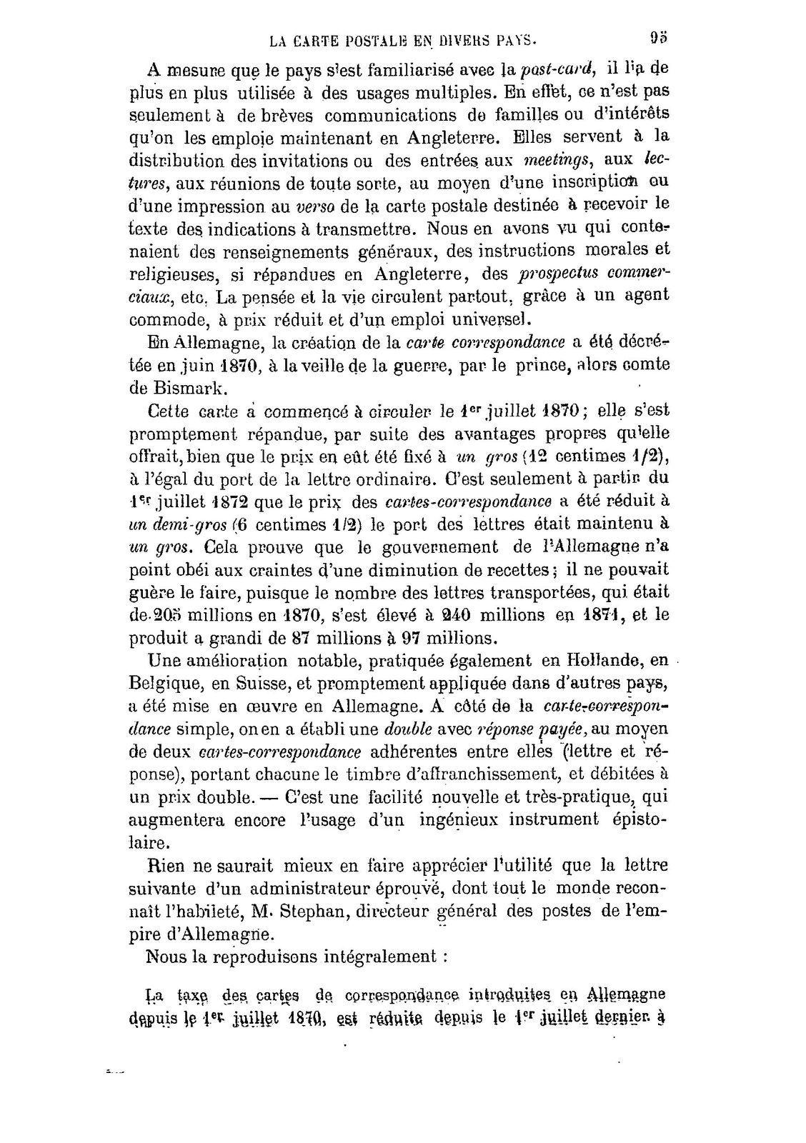 Louis Wolowski introduit la carte postale en France