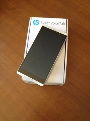 Test du HP Slate 6 VoiceTab