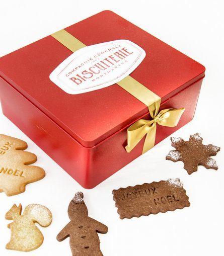 Jour 7 : la boite à biscuits de la Compagnie Générale de Biscuiterie