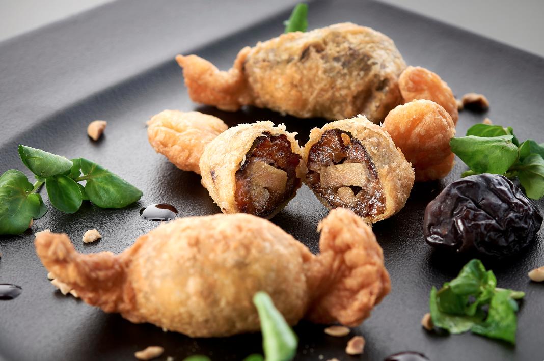 Jour 21 : bonbons de Pruneaux d'Agen farcis au foie gras et aux oignons