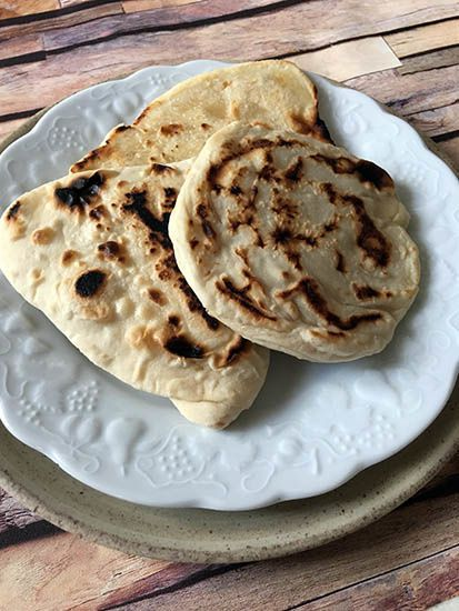 Parathas {pains indiens}