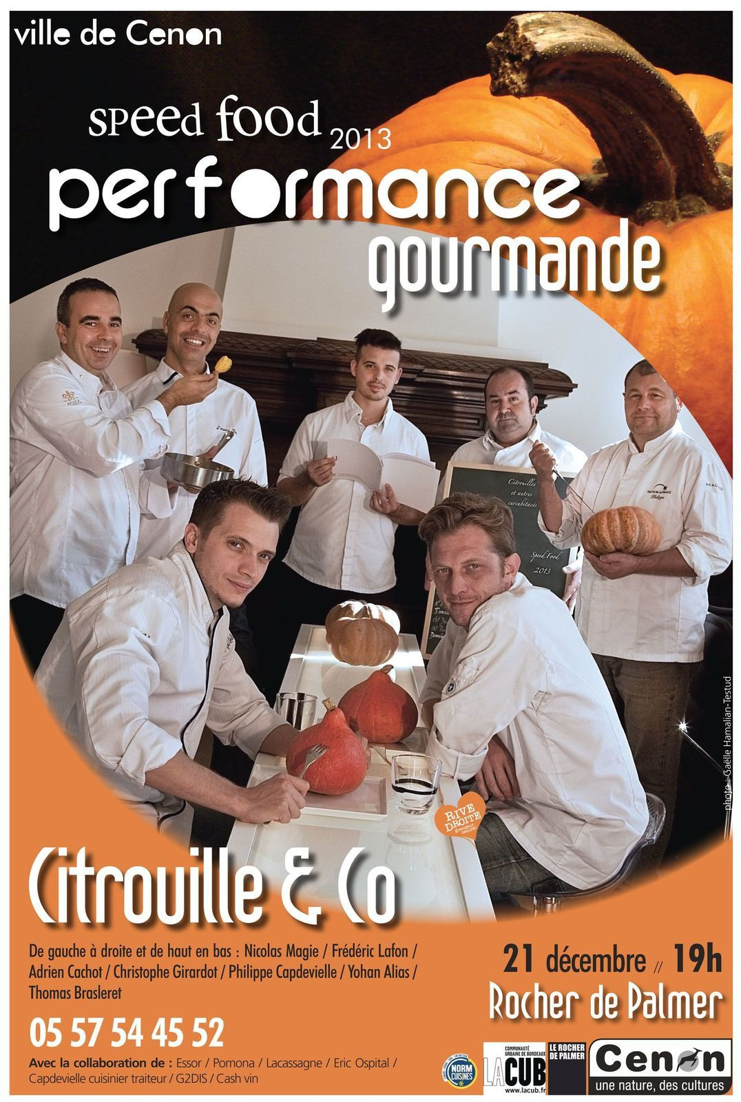 Performance gourmande Speed food à Cenon