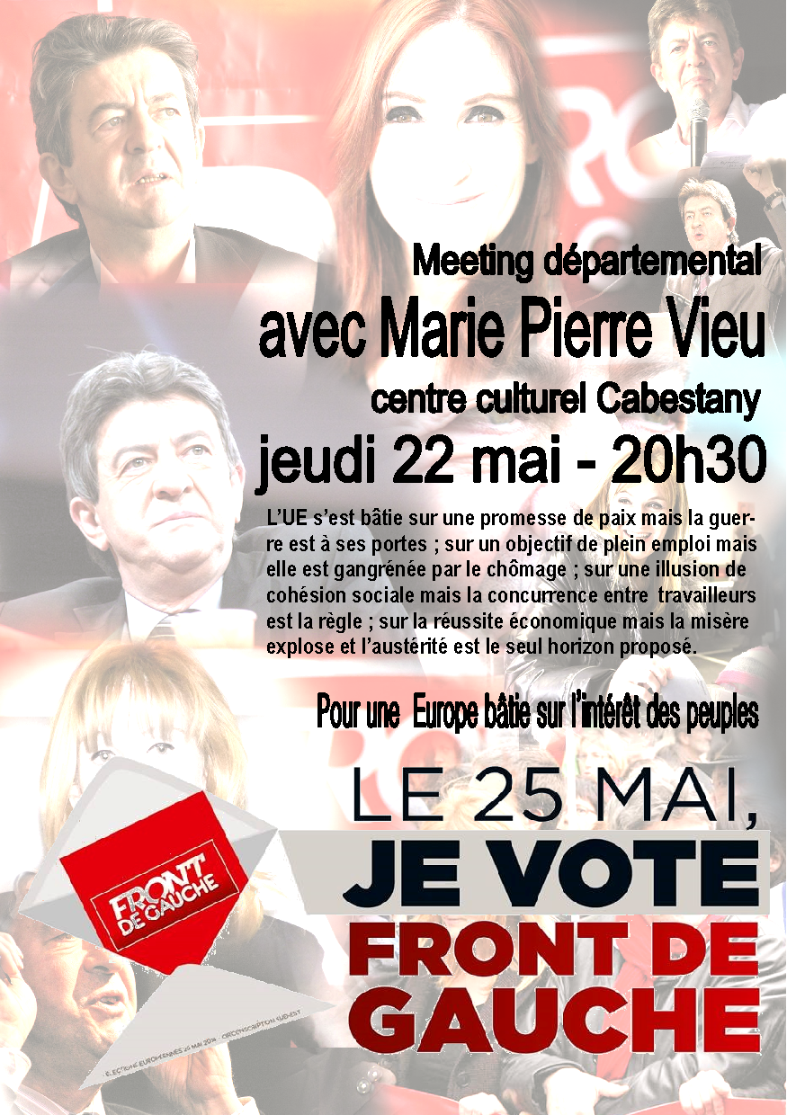 Meeting Front de Gauche