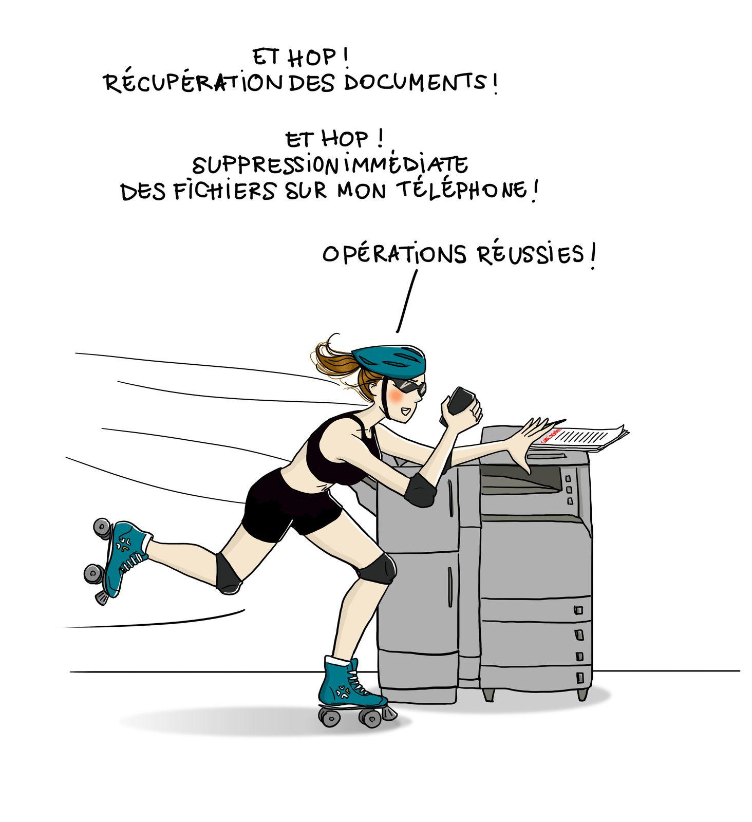 Mademoiselle Security #3