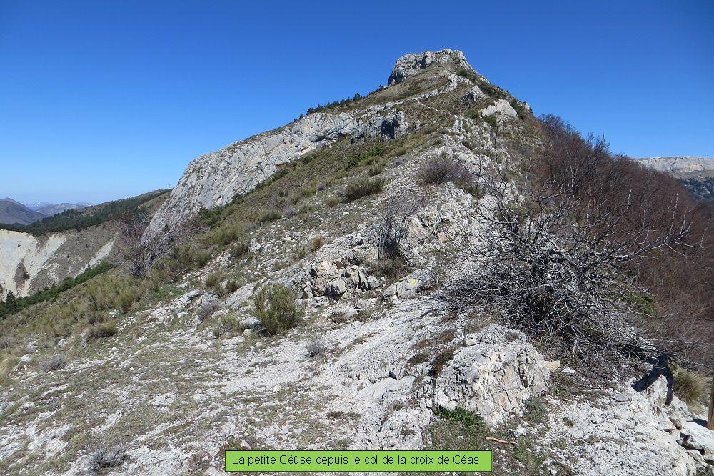 La Petite Céüse - 1681m (Hautes alpes)
