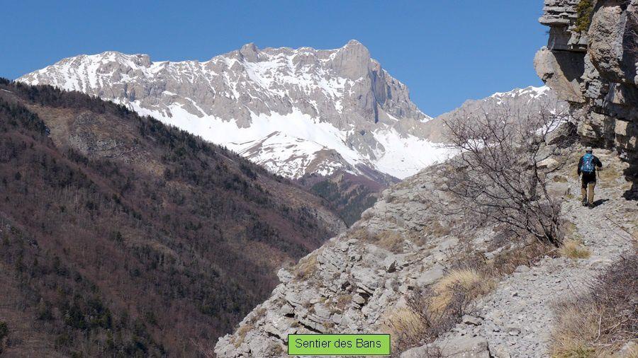 Le Sentier des Bans - 1834 m - Buëch