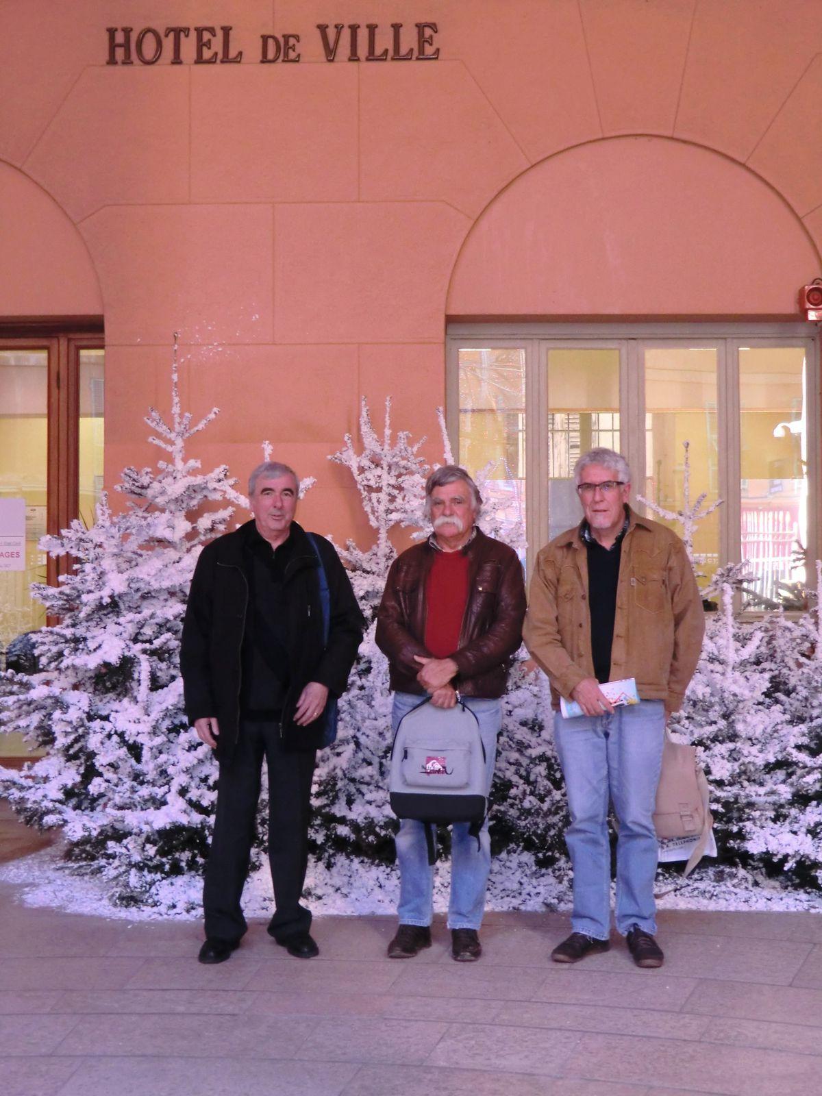 L'Intersyndicale recue à la mairie de NICE