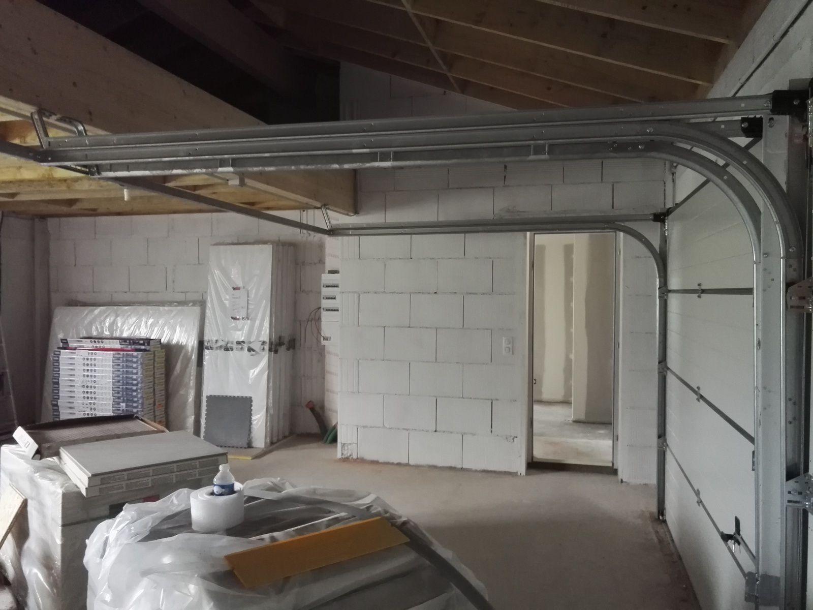 La peinture du garage