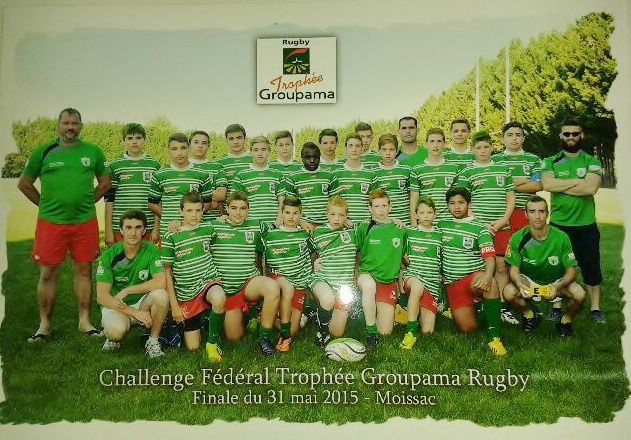CHALLENGE FEDERAL TROPHEE GROUPAMA RUGBY POUR LES MINIMES
