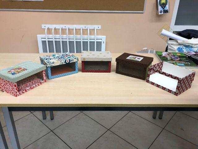 2ème atelier cartonnage