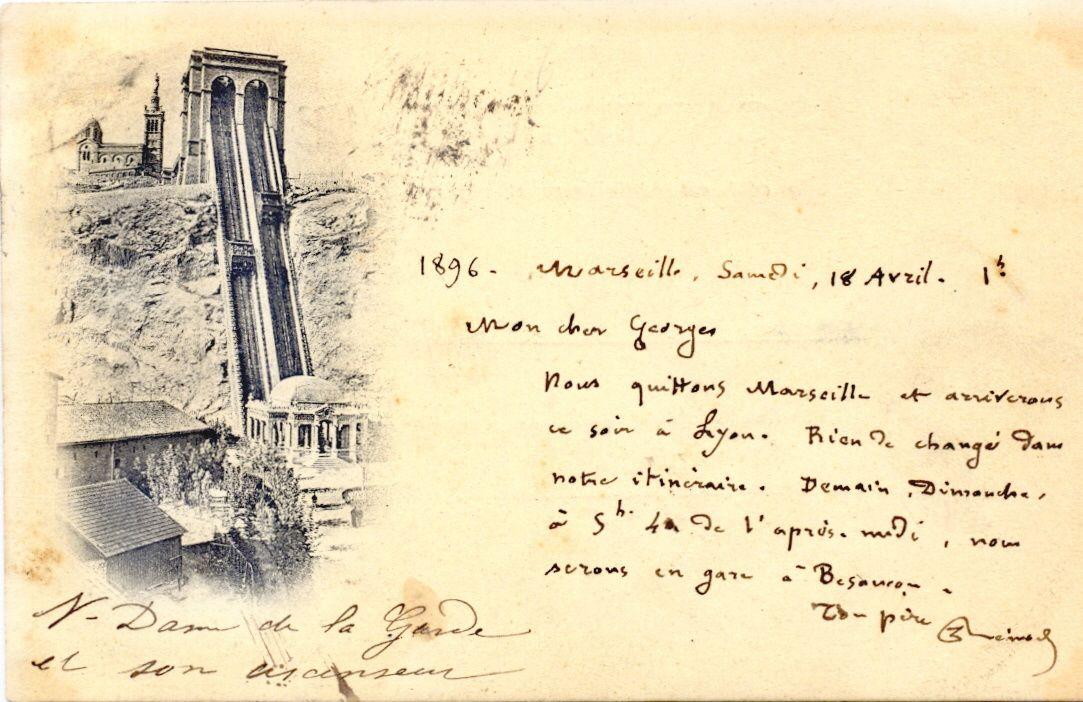Les premières cartes Neurdein sur Marseille.