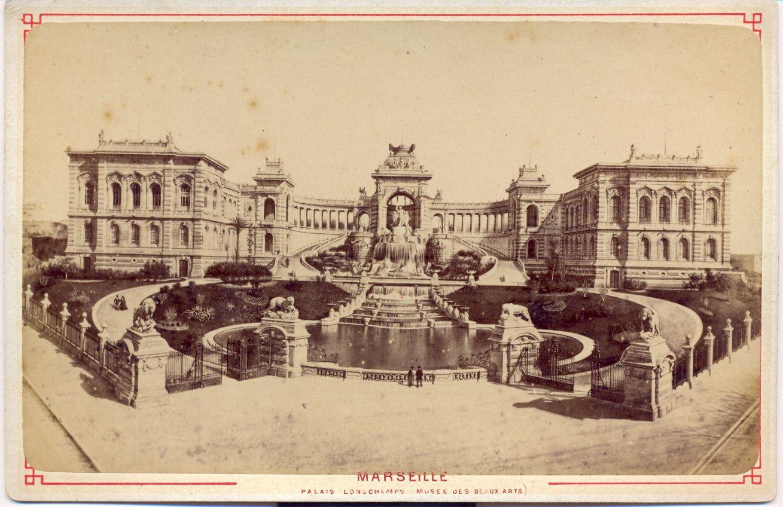 Les cartes au format cabinet de Marseille avec des variantes de support cartonné