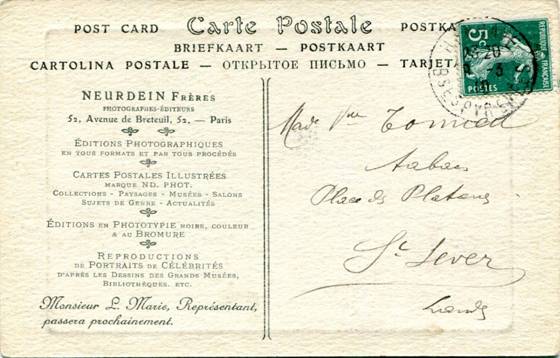 Les cartes postales NEURDEIN