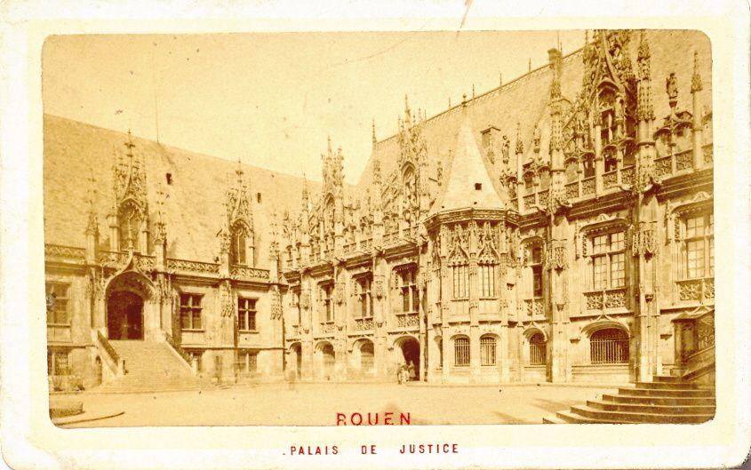Les cartes de visite de Rouen (76)